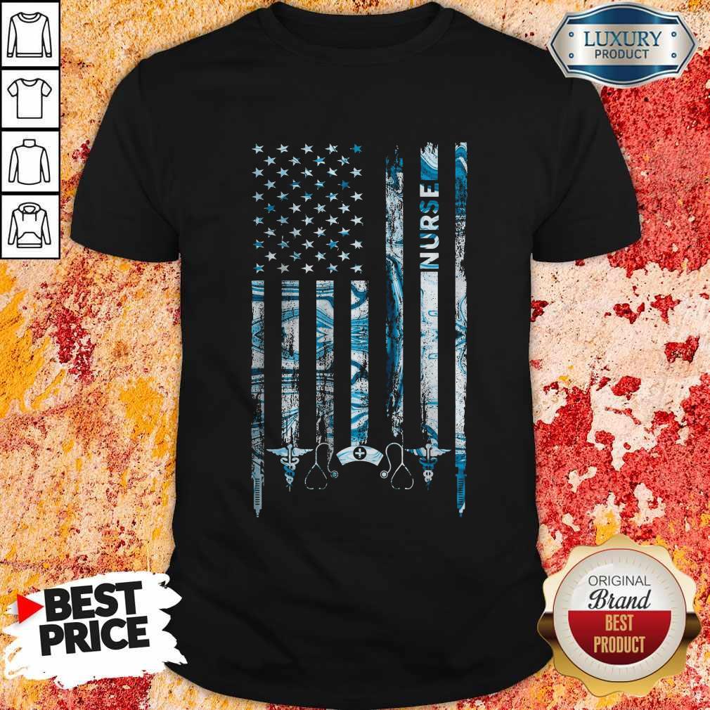 Premium America Nurse Shirt