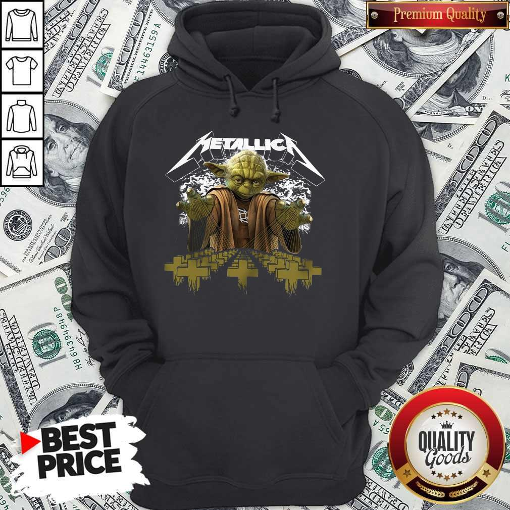 Premium Master Yoda Metallica Hoodie