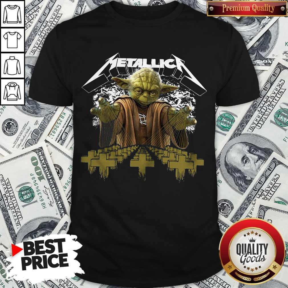 Premium Master Yoda Metallica Shirt