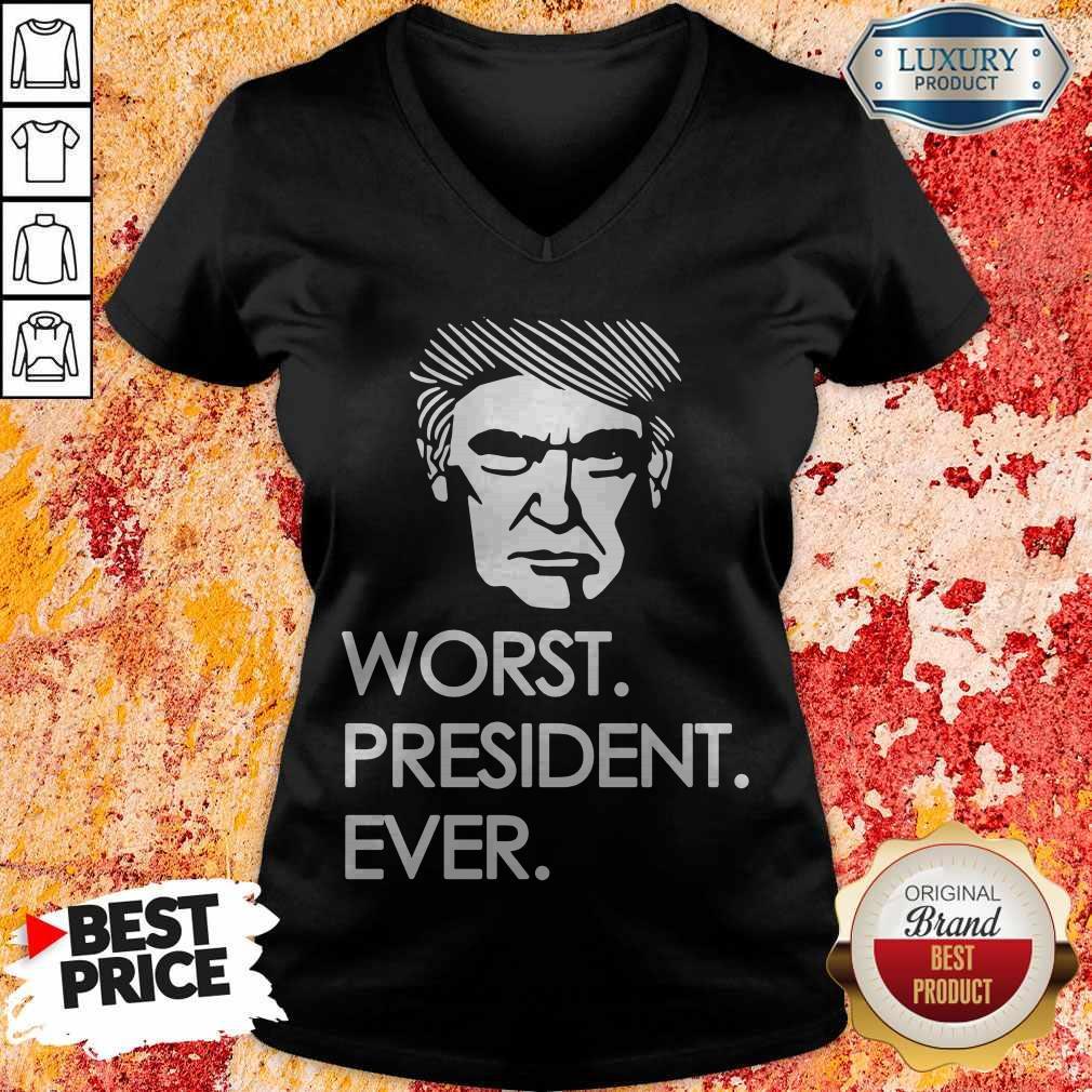 Premium Worst President Ever V-neck