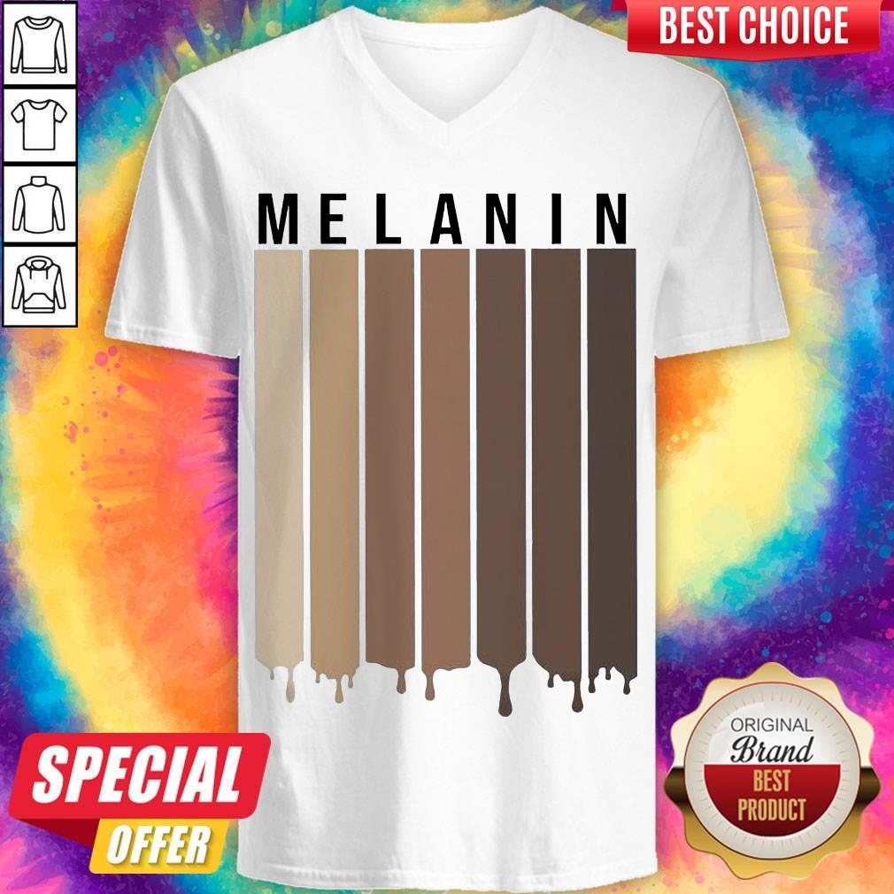 Pretty Melanin All Lives Matter V-neck