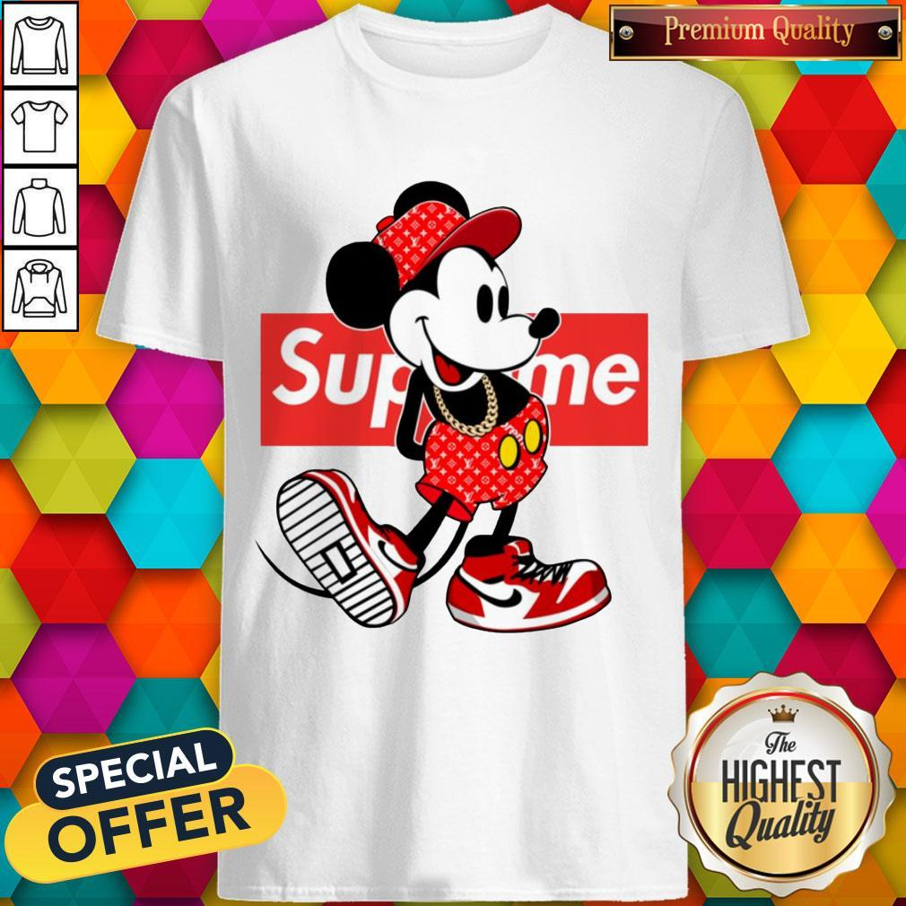 Pretty Supreme X Mickey Mouse Youth Shirt