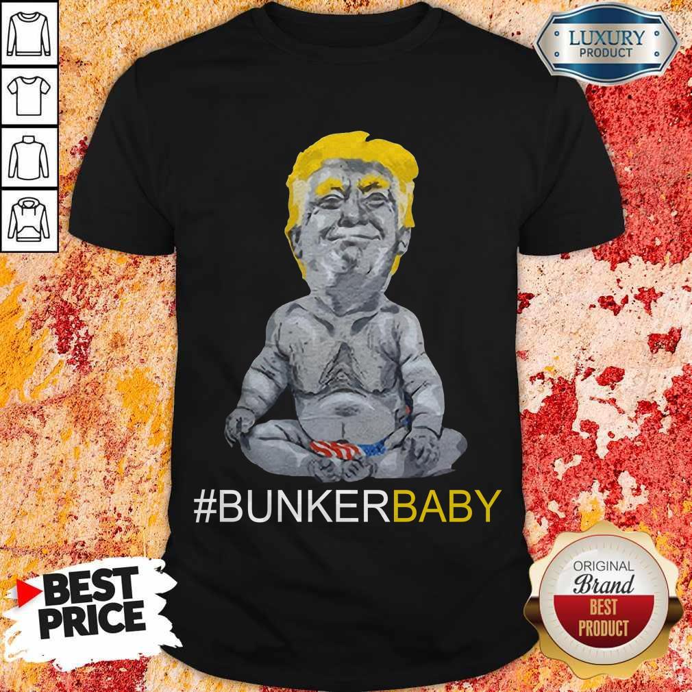 Pretty Trump Bunker Baby Shirt