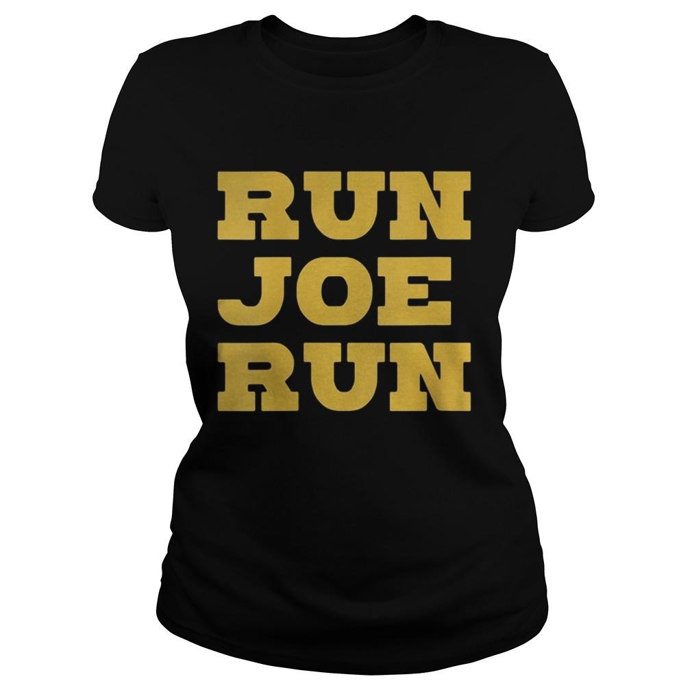 Run Joe Run Joe Biden 2020 Classic Ladies