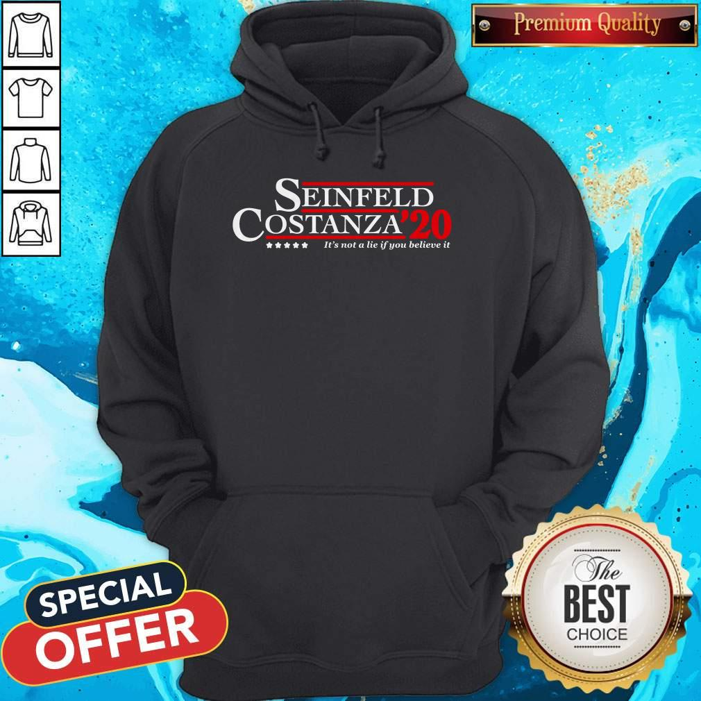 Seinfeld Costanza For 2020 President A Campaign About Nothing Hoodie
