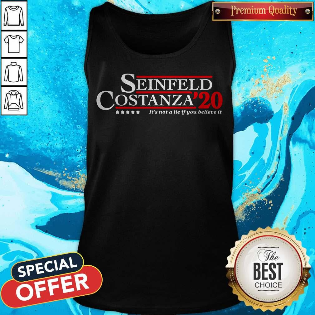 Seinfeld Costanza For 2020 President A Campaign About Nothing Tank Top
