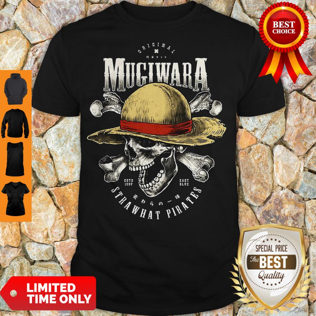 Luffy Skull Original Mugiwara Strawhat Pirates One Piece Shirt