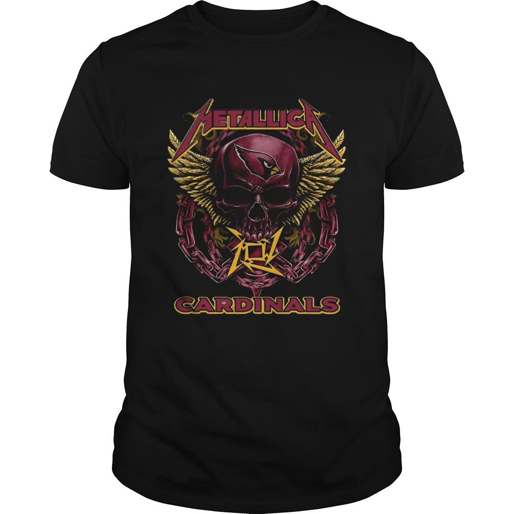 Skull Metallic Cardinals Unisex