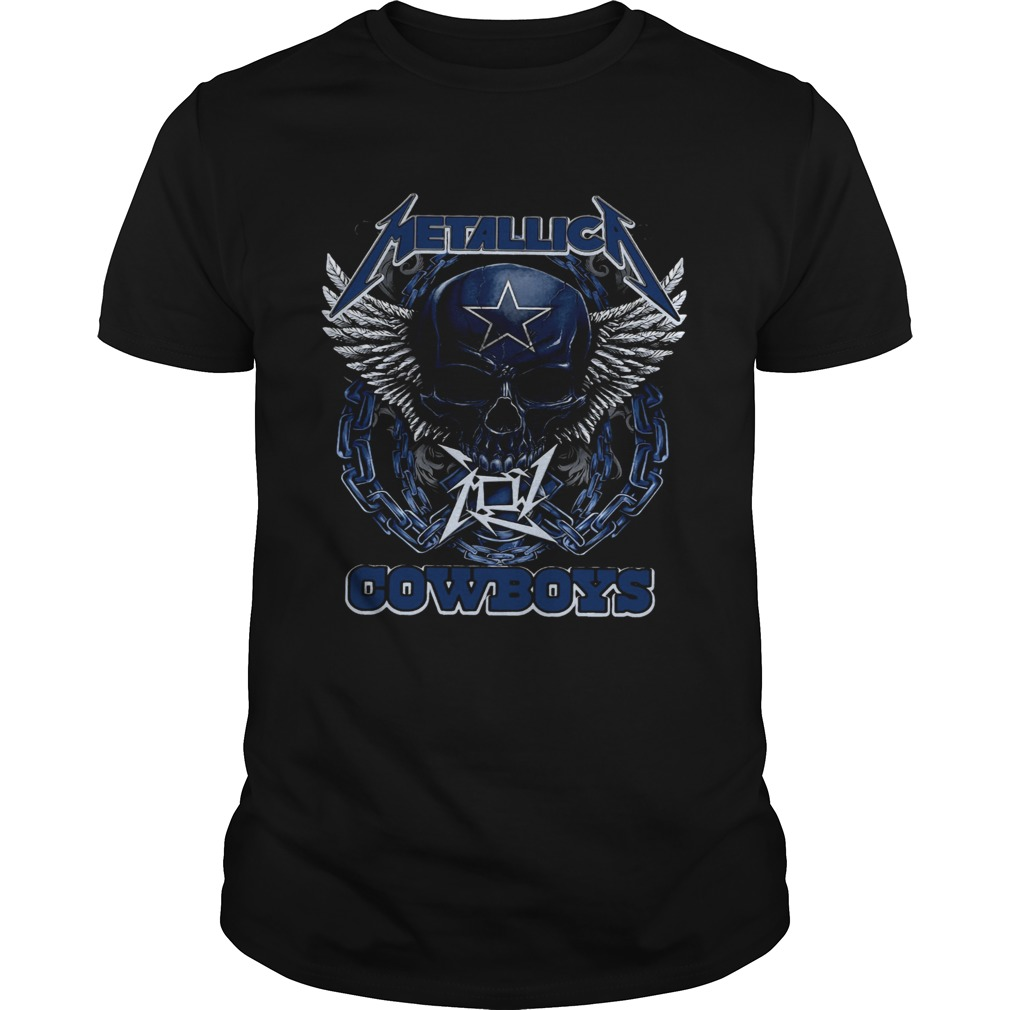 Skull Metallic Cowboys Unisex