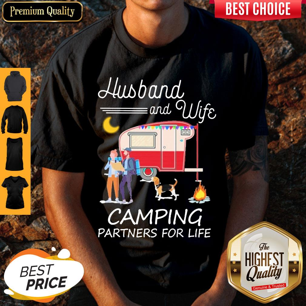 Top Husband And Wife Camping Partners For Life Shirt