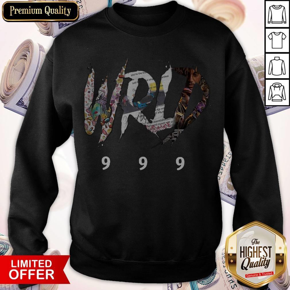 Top Rip Juice WRLD 999 Sweatshirt