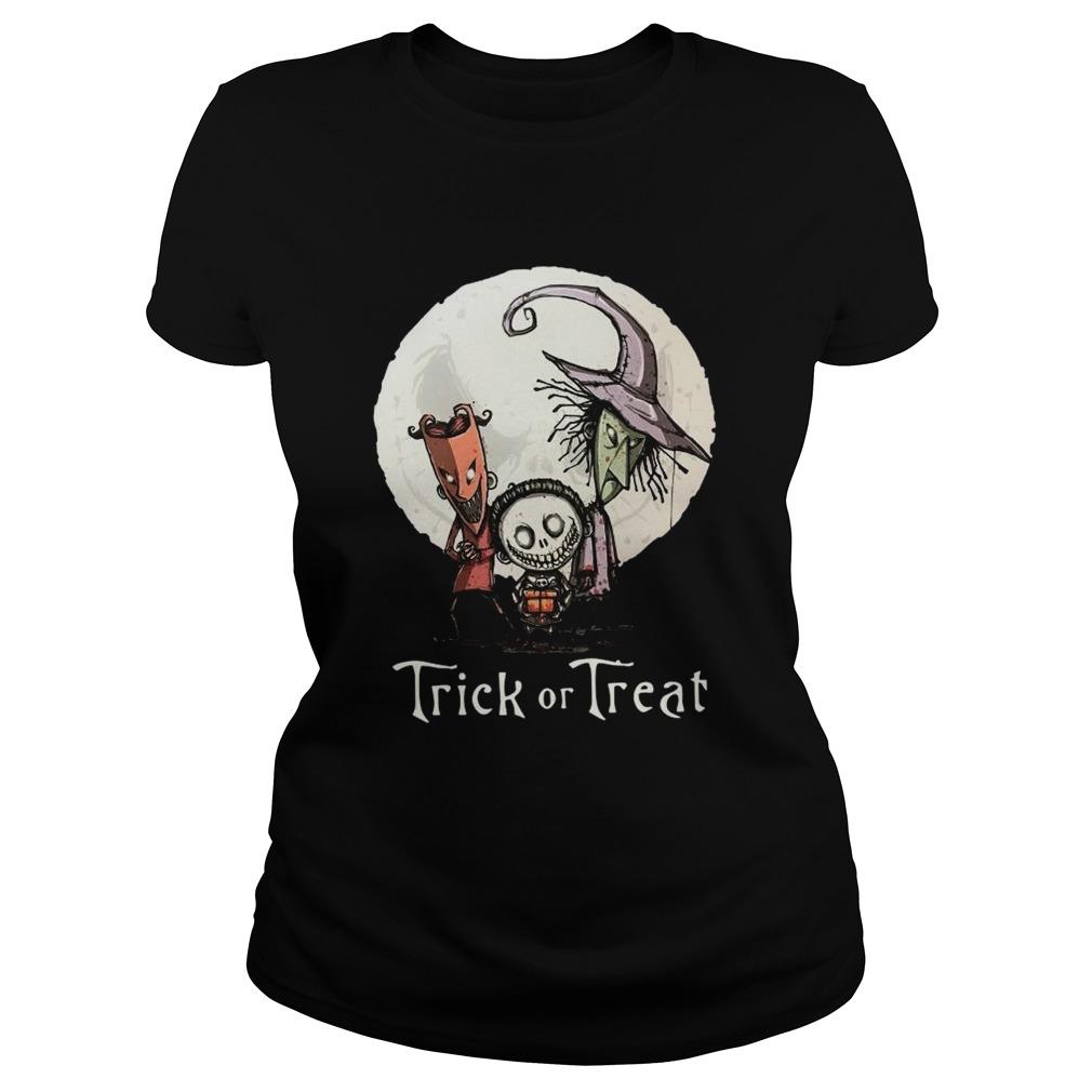 Trick Or Treat Halloween Classic Ladies