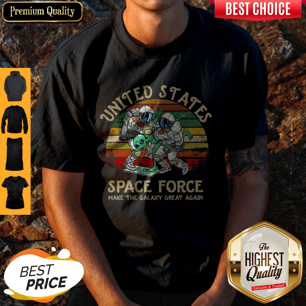 United States Space Force Make The Galaxy Great Again Vintage Shirt