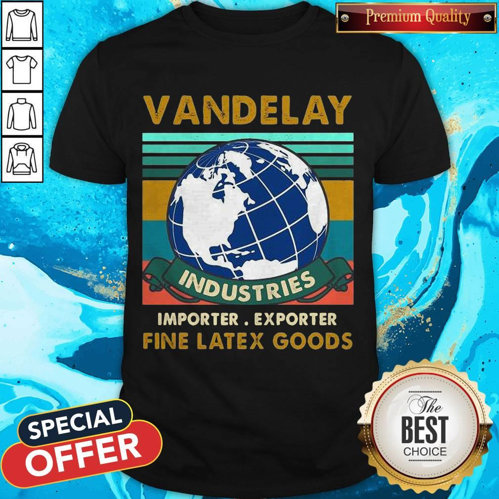 Vandelay Industries Importer Exporter Fine Latex Goods Vintage Shirt
