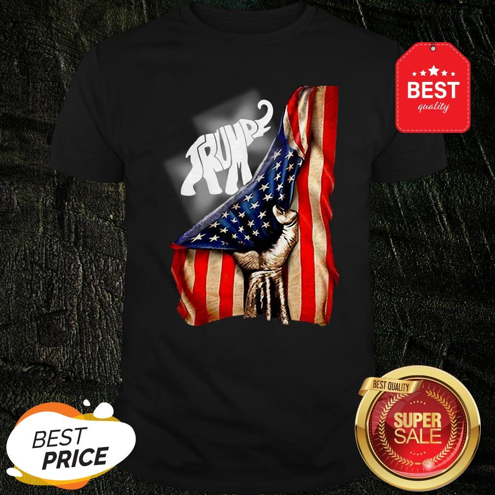 Official Donald Trump Elephant American Signature Shirt