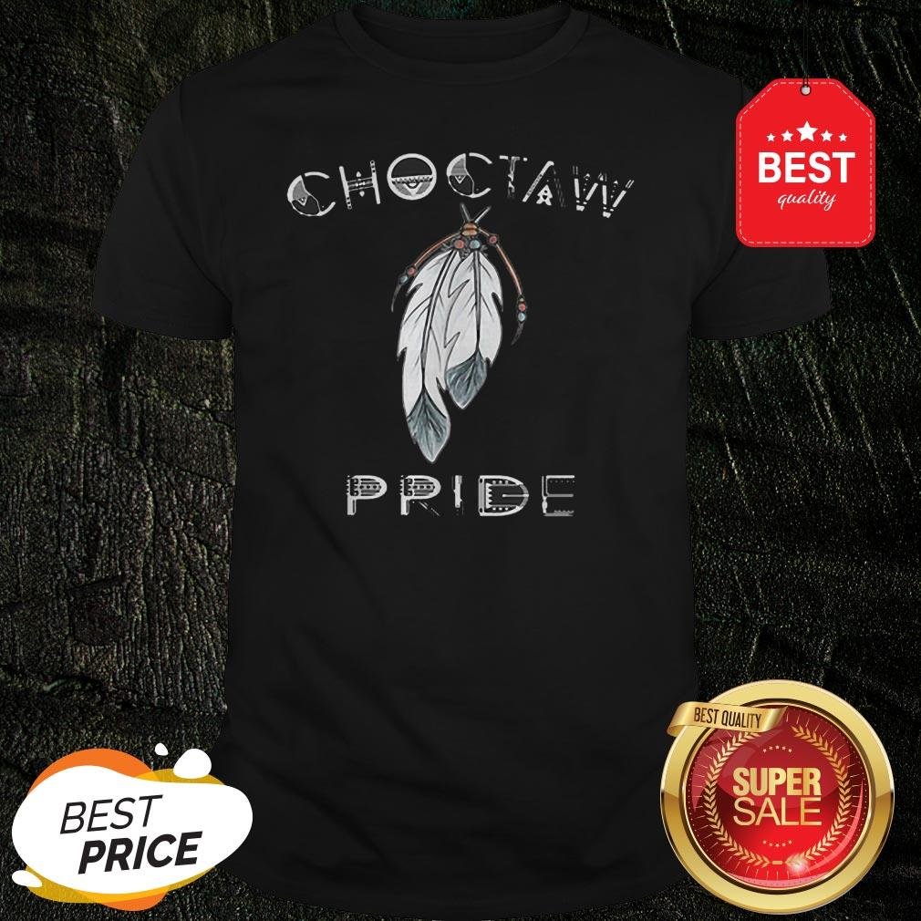 Official Feathers Choctaw Pride Shirt