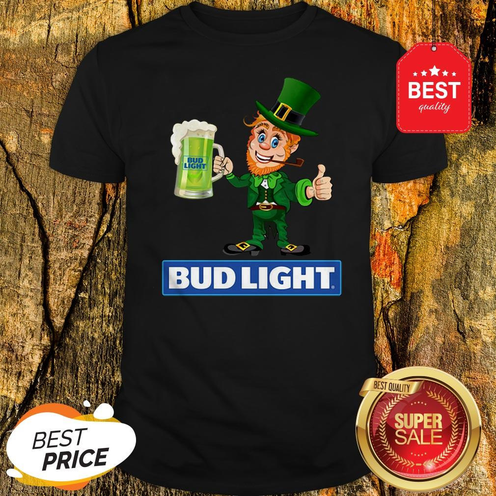 Official Leprechaun Love Bud Light Irish St. Patrick's Day Shirt