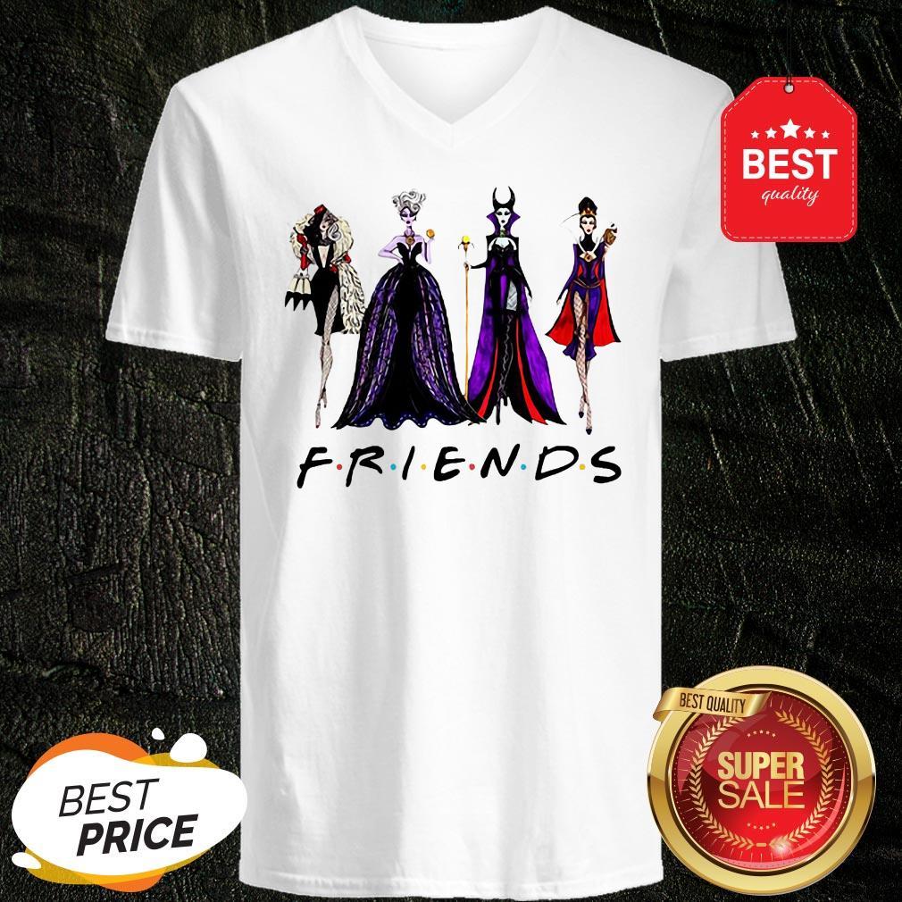 Official Disney Villains Vogue Friends V-Neck