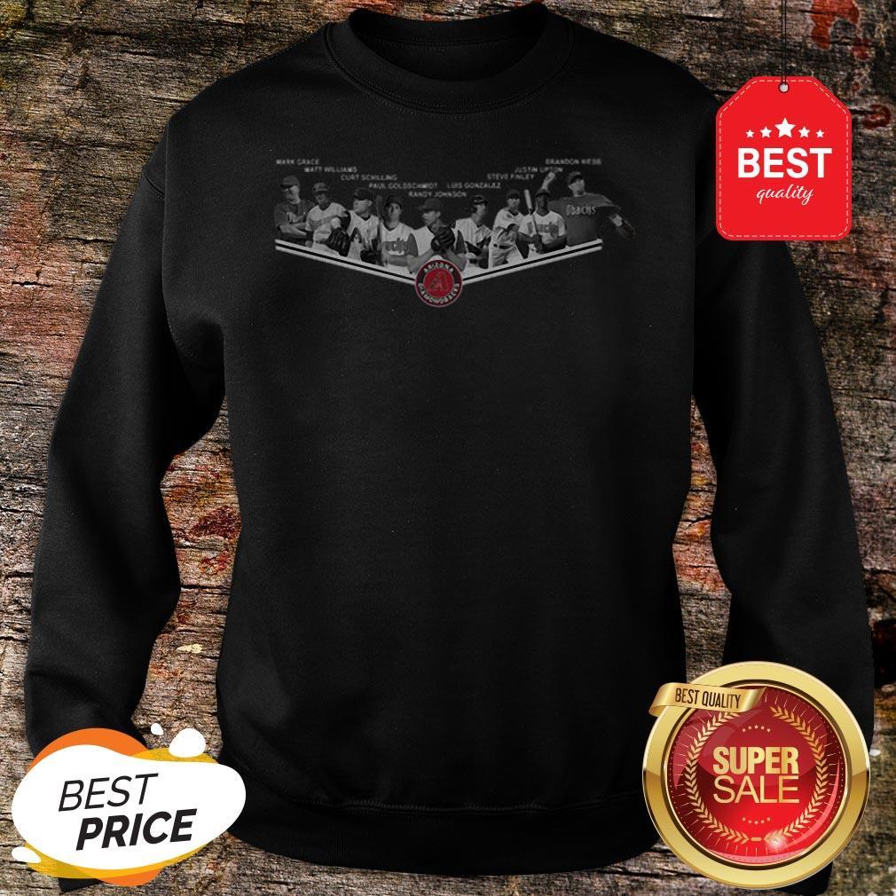 Official Arizona Diamondbacks Legends Player Mark Grace Matt Williams Sweatshirt