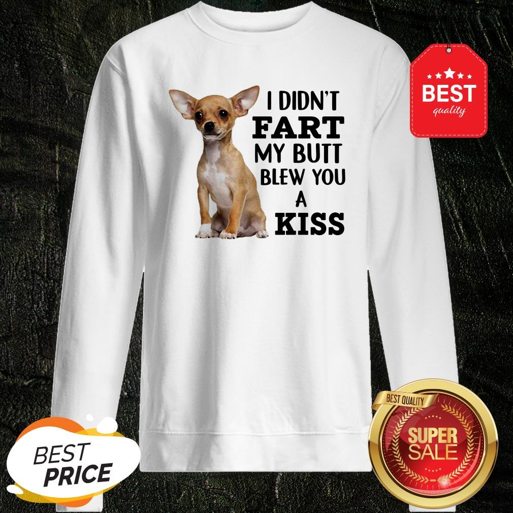 Official Chihuahua I Only Bite Stupid People Sweatshirt