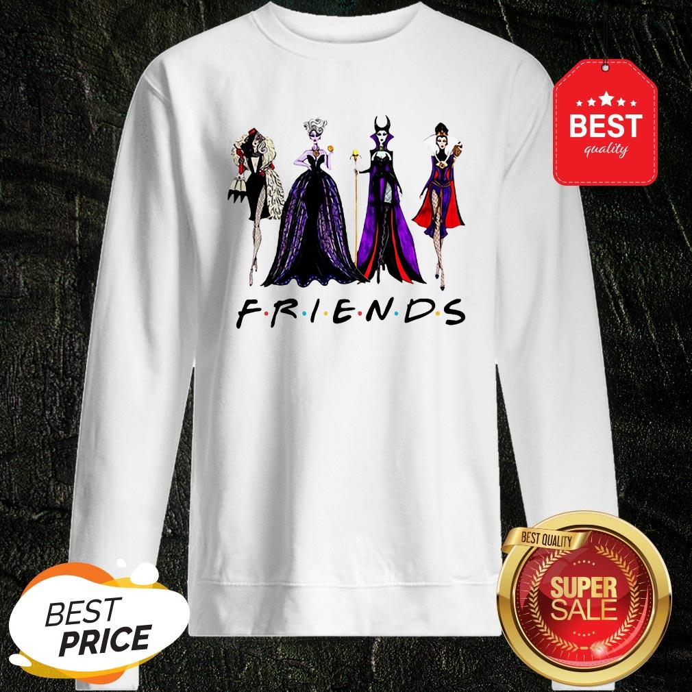 Official Disney Villains Vogue Friends Sweatshirt