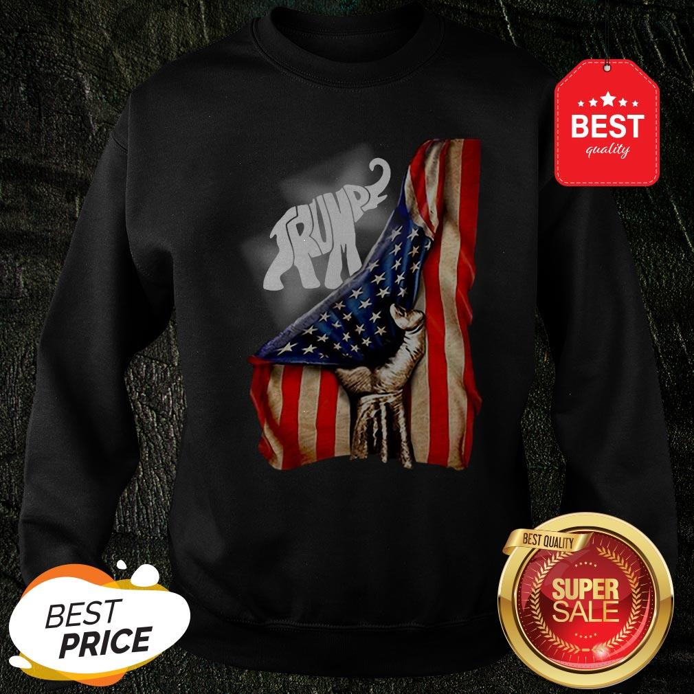 Official Donald Trump Elephant American Signature Sweatshirt