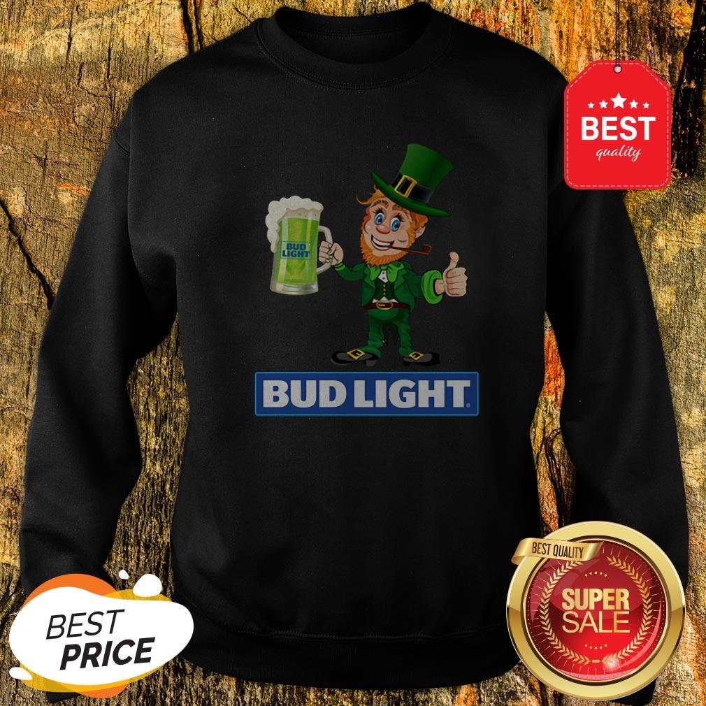 Official Leprechaun Love Bud Light Irish St. Patrick's Day Sweatshirt