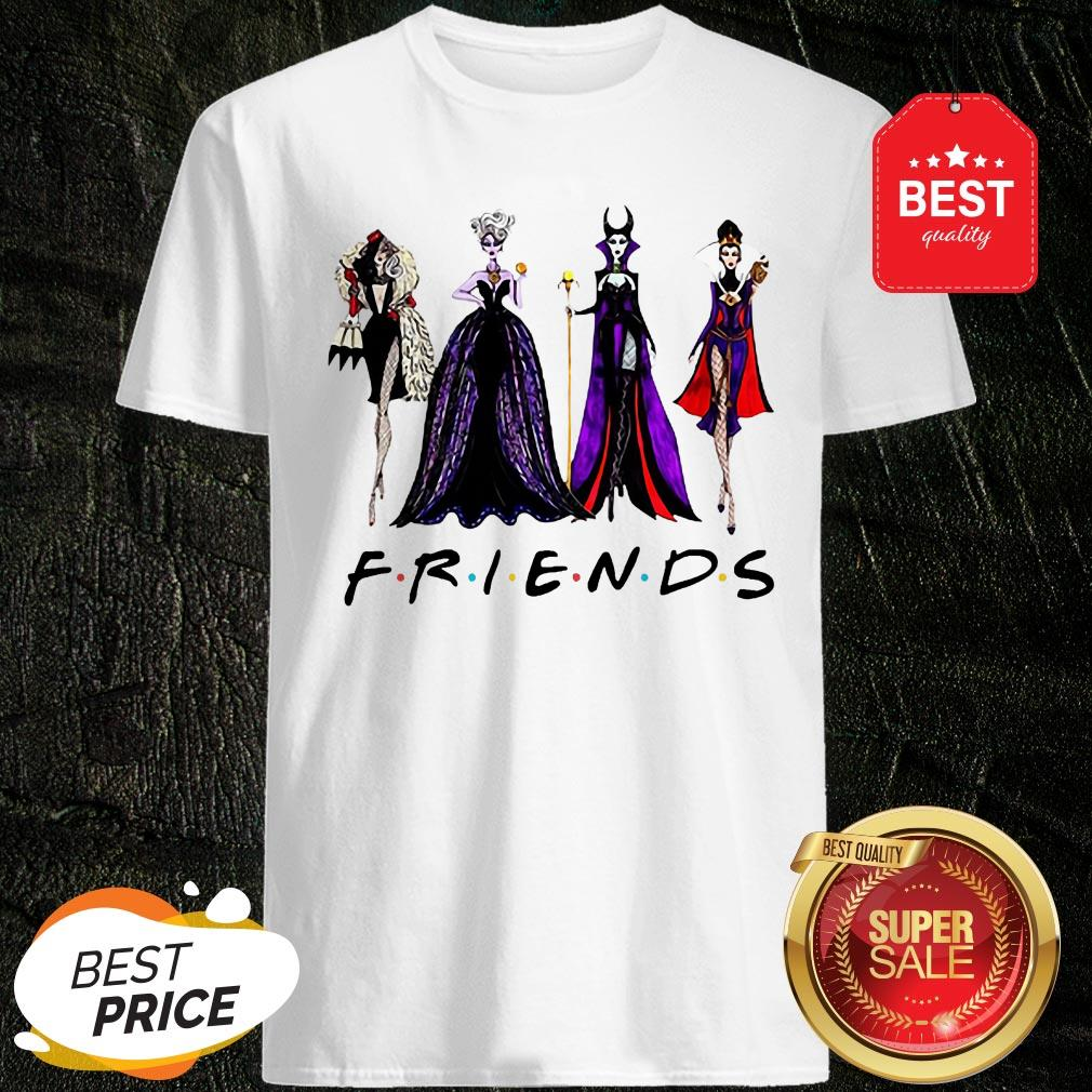 Official Disney Villains Vogue Friends Shirt