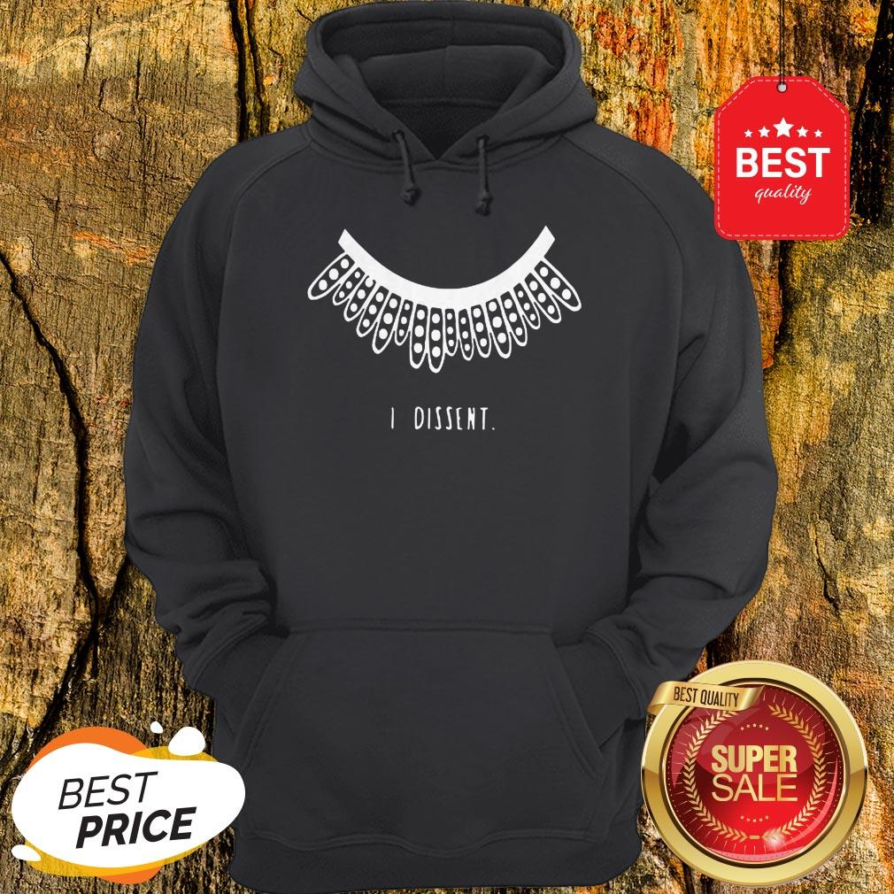 Official I Dissent RGB Collar Hoodie