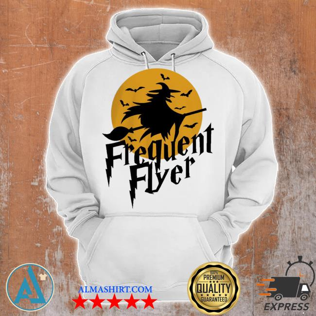 Frequent flyer witch halloween s Unisex Hoodie