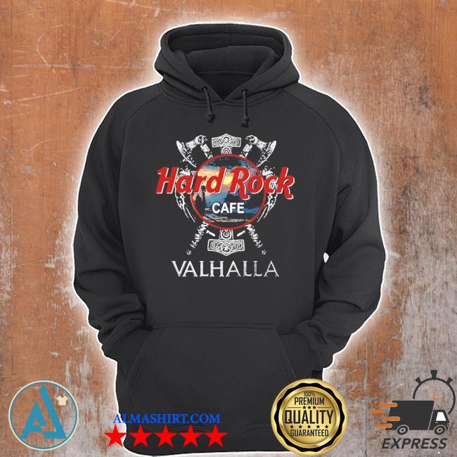 Hard Rock cafe Valhalla 2020 s Unisex Hoodie