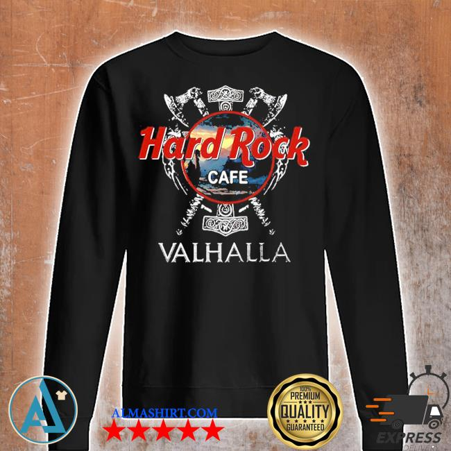 Hard Rock cafe Valhalla 2020 s Unisex sweatshirt