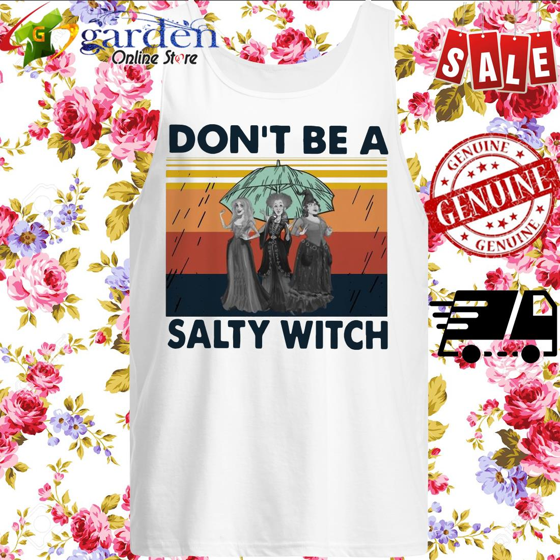Hocus-Pocus Don't Be A Salty Witch Vintage SWEATER