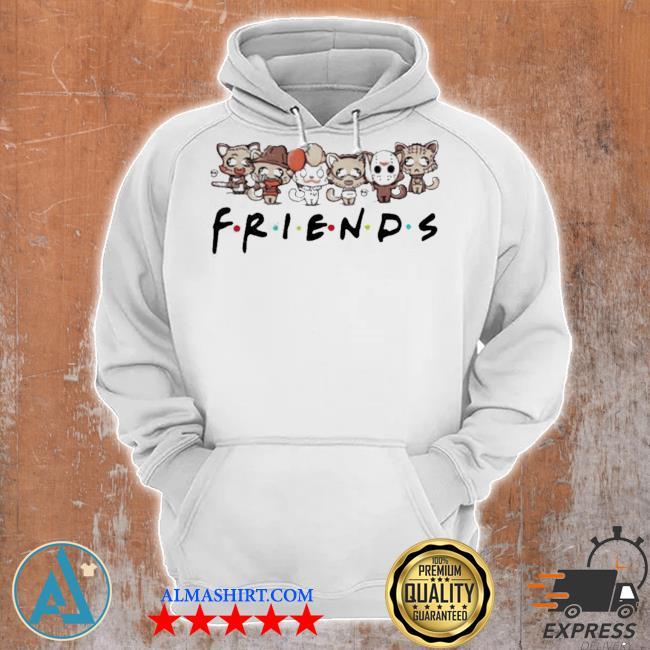 Horror characters cat friends s Unisex Hoodie
