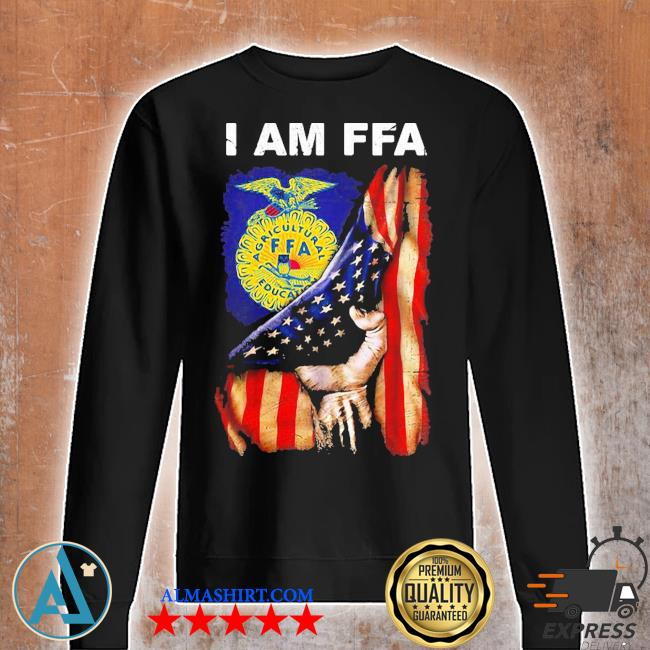 I am FFA american flag independence day s Unisex sweatshirt