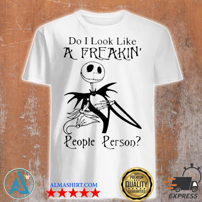 Ladies tank top Do I look like a freakin/' people person funny saying womens tee