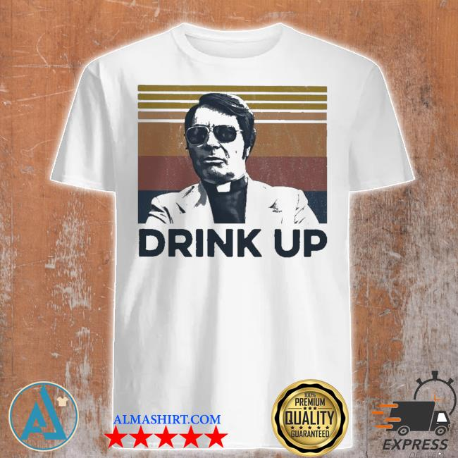 Jim jones drink up vintage retro shirt