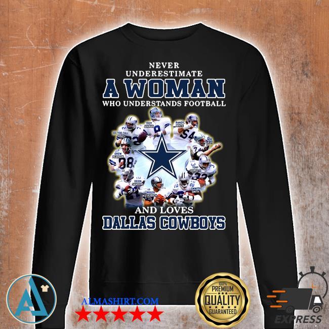 Dallas Cowboys American Football Team Never Underestimate Fan Born In June T Shirt