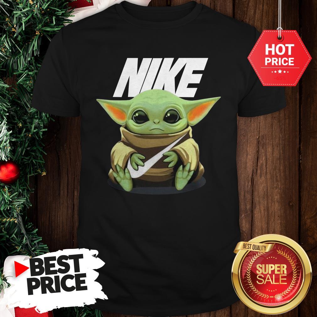 Official Baby Yoda Hug Nike Shirt