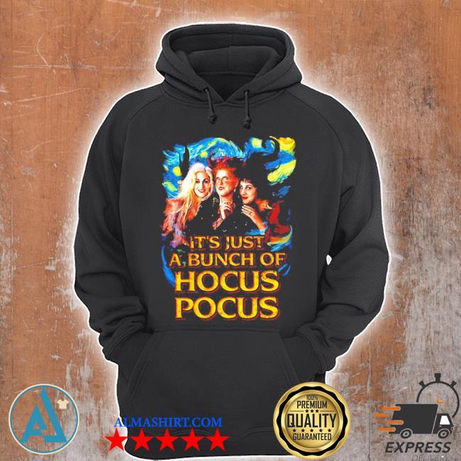 Starry night it's just a bunch of hocus pocus s Unisex Hoodie