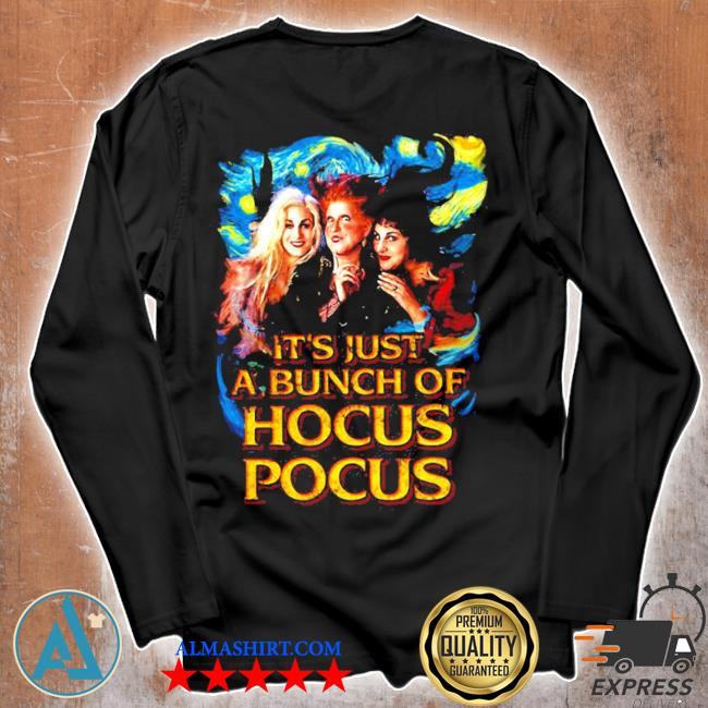 Starry night it's just a bunch of hocus pocus s Unisex longsleeve