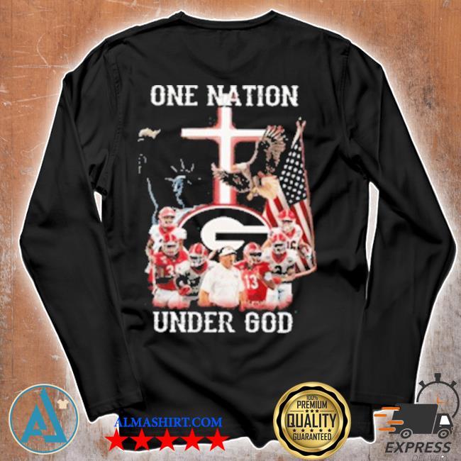 Statue of Liberty America Georgia Bulldogs one nation under God s Unisex longsleeve