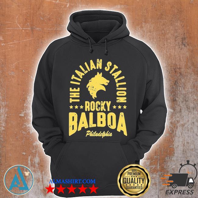 The italian stallion rocky balboa philadelphia stars s Unisex Hoodie