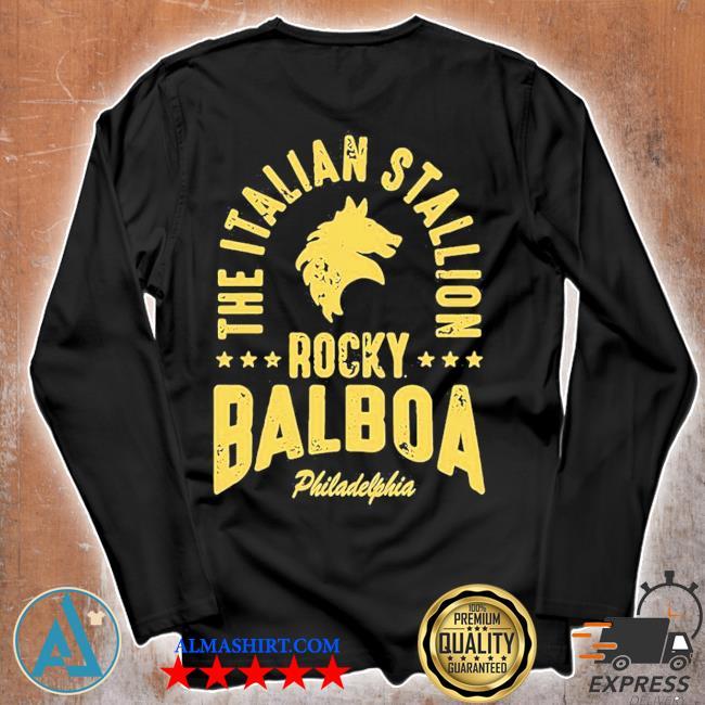 The italian stallion rocky balboa philadelphia stars s Unisex longsleeve