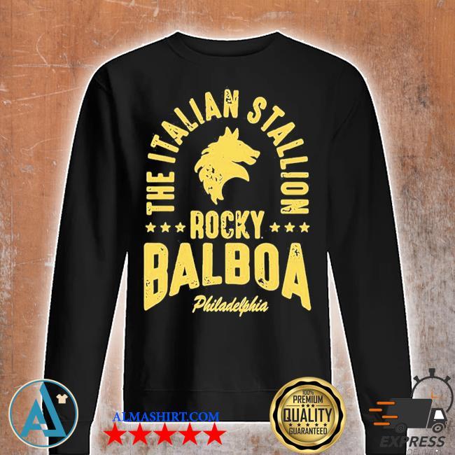 The italian stallion rocky balboa philadelphia stars s Unisex sweatshirt