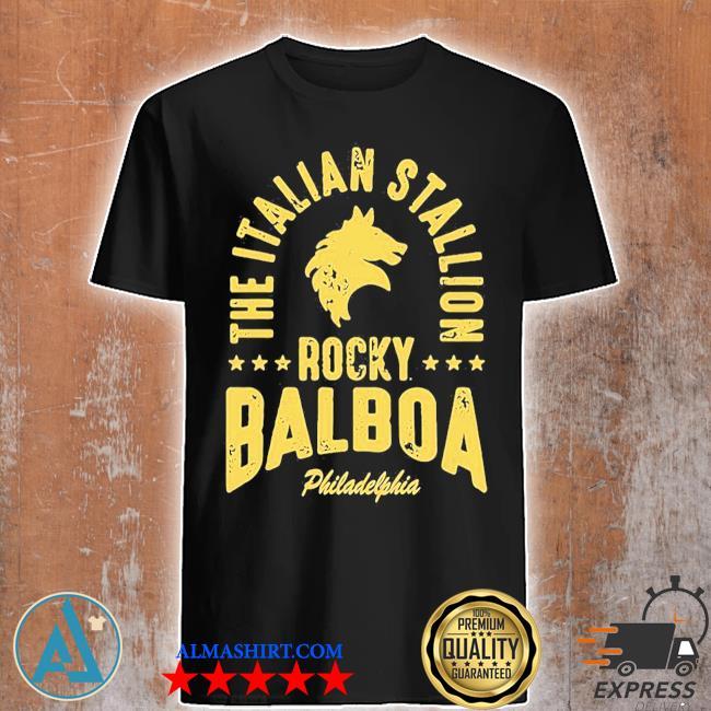 The italian stallion rocky balboa philadelphia stars shirt