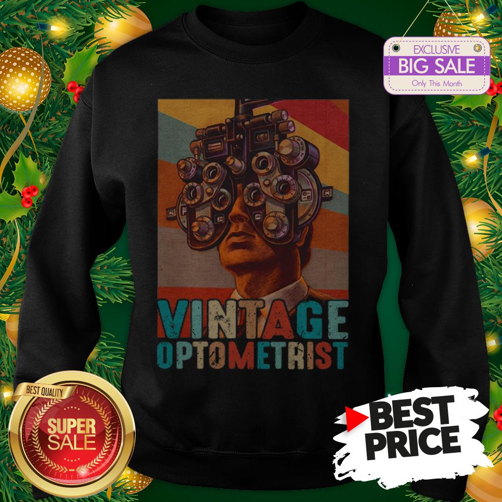 Vintage Optometrist Eye Ophthalmologist Sweatshirt