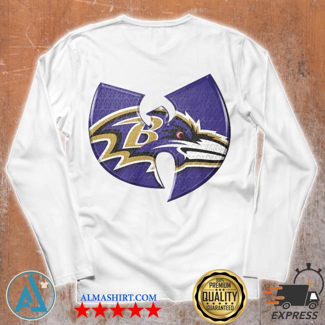 Wu Tang Baltimore Ravens s Unisex longsleeve