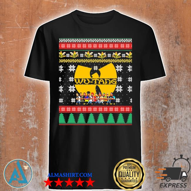 2020 Wu tang ugly christmas sweater