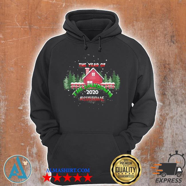 2020 year of the lockdown decorative ugly christmas sweater Unisex Hoodie